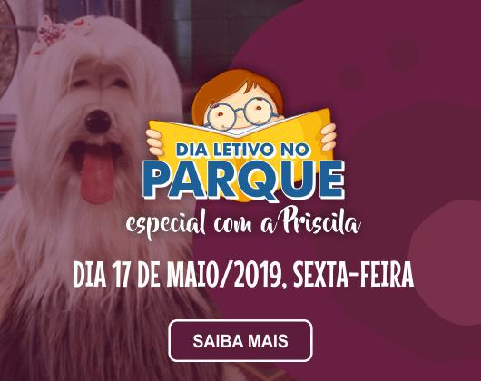 Dia Letivo no Parque especial com a Priscila